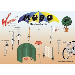 Wurmi Mubo umbrella stands