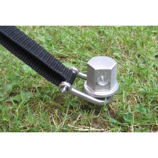 Wurmi Professional Wurm with stainless steel shackle